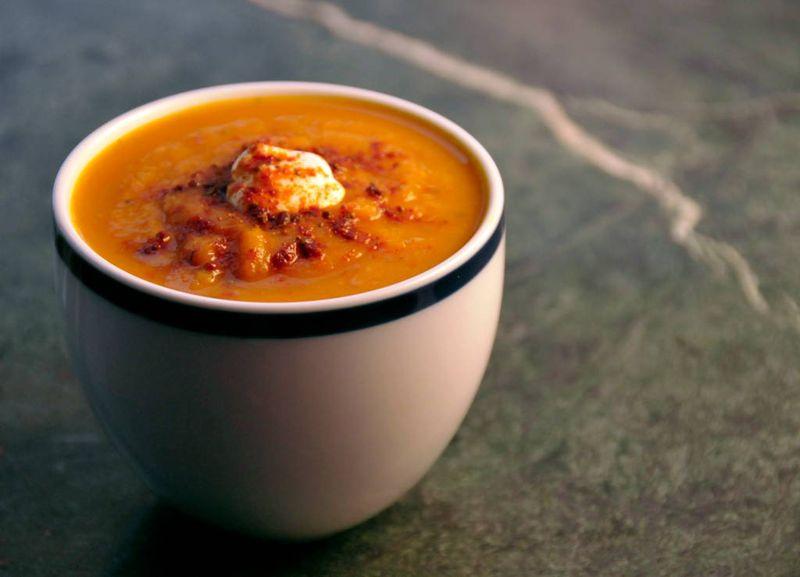 Carrot BNut Tikka soup