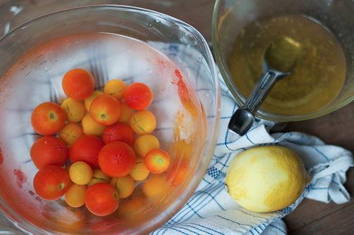 Tomato peeling