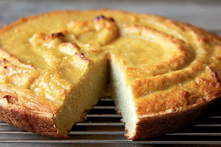 Coconut flour cake 1