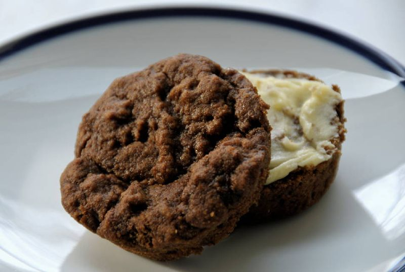 KAF banana muffins