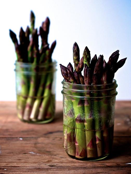 New asparagus