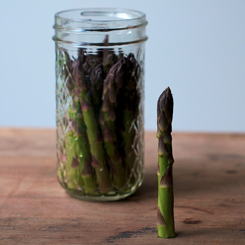 Pickled asparagus 4