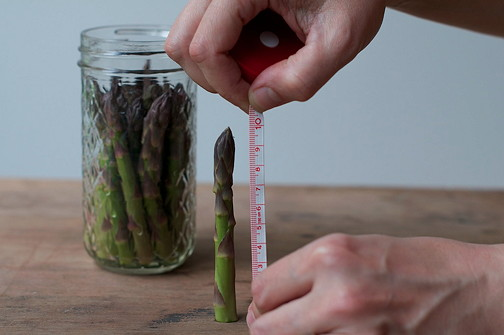 Pickled asparagus 6