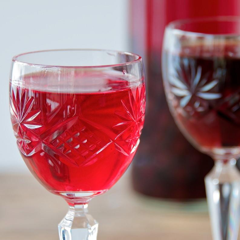 Sloe gin fizz 1