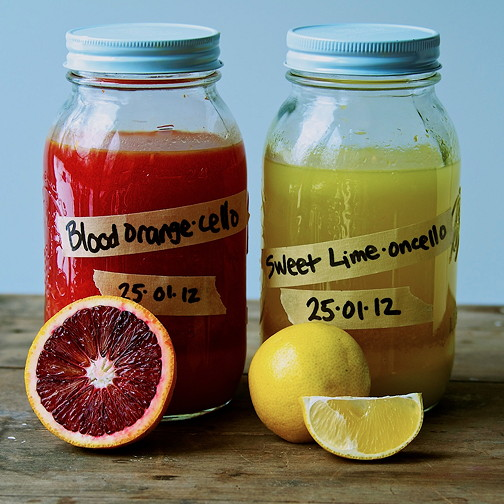... , two variations: Sweet Lime and Blood Orange. - Jammy Chicken