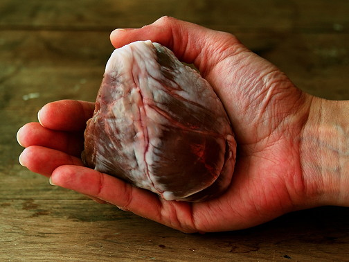 Devilled heart 1