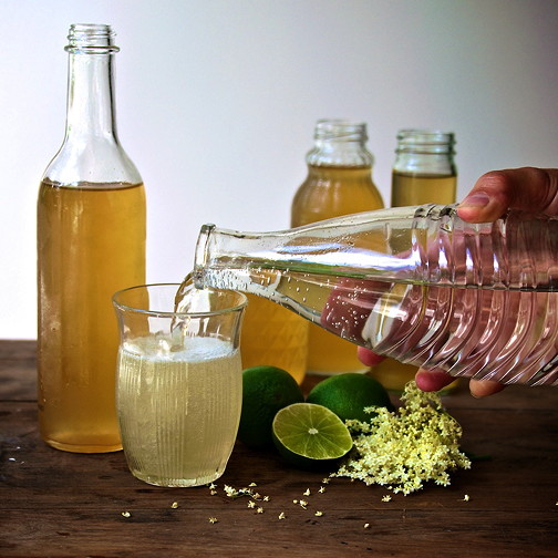 Elderflower cordial 7